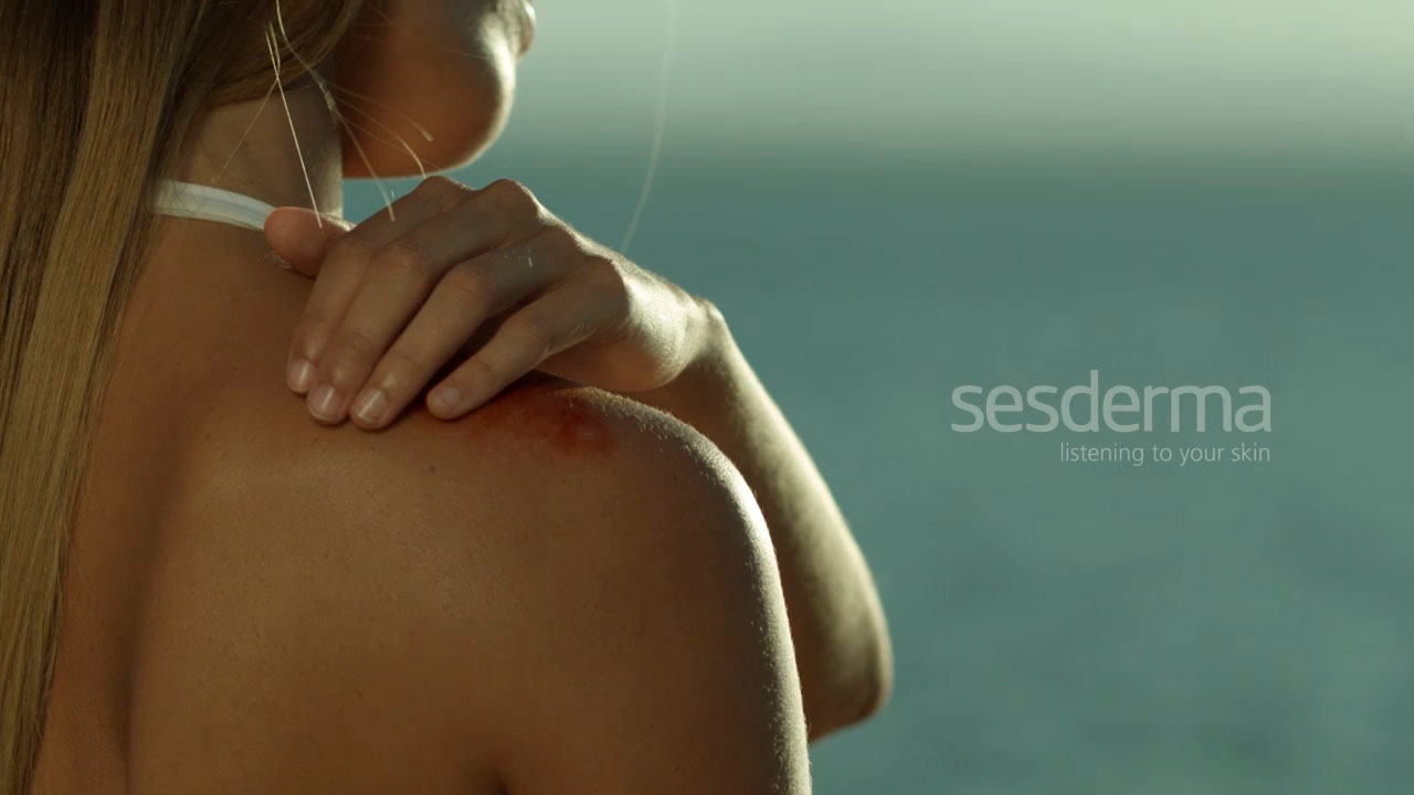 visual art repaskin vídeo producto Sesderma