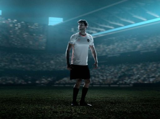 ADVERTISING OF THE CF VALENCIA JERSEY