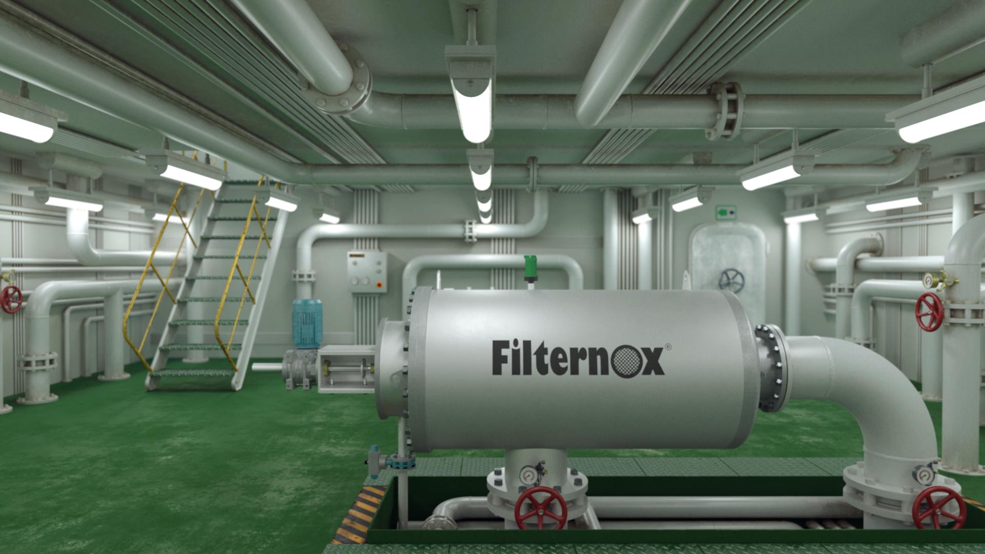 Virtual Art anuncio filternox evolution video producto animación 3D