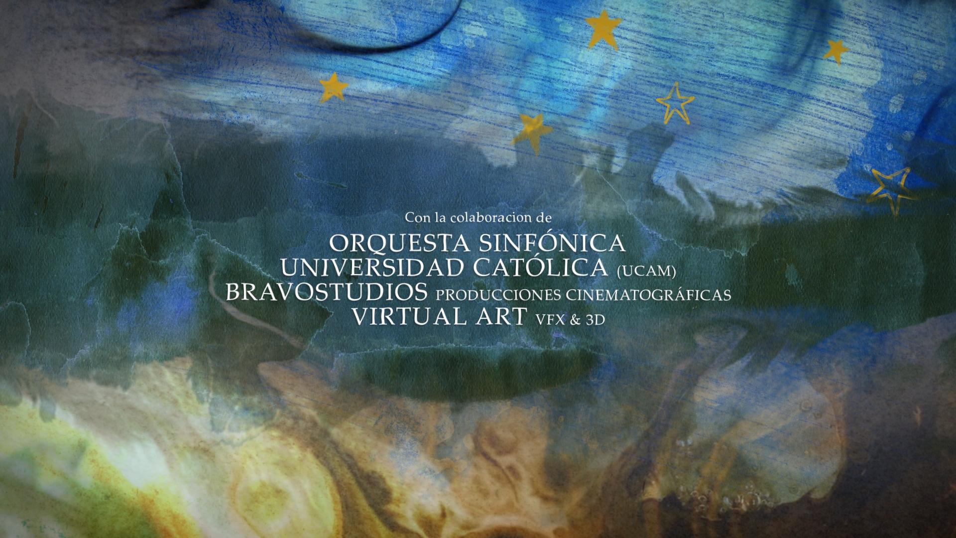 HASTA LA ULTIMA ESTRELLA Virtual Art títulos de crédito animación 2d y 3D