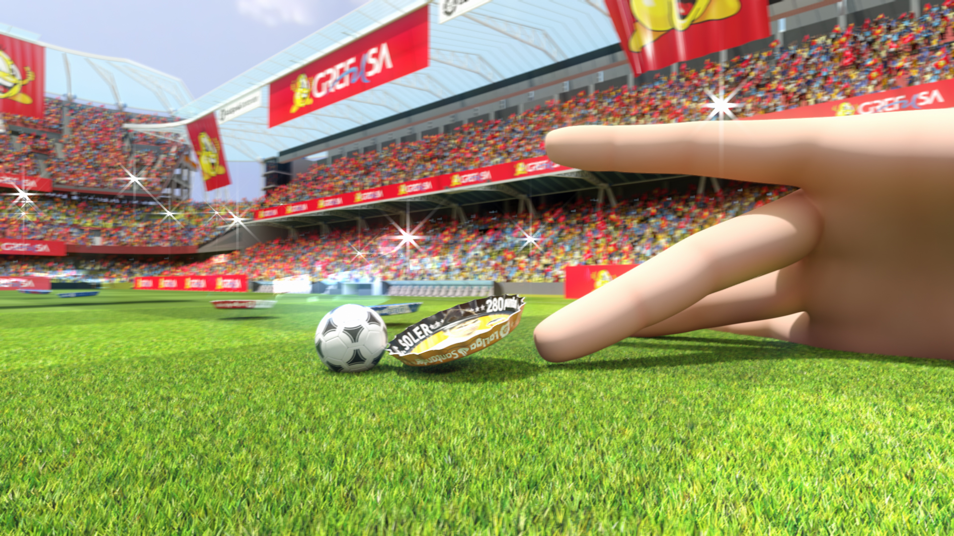 Virtual Art anuncio SPOT TV LA GRAFULIGA GREFUSA animación 3D valencia